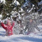 Bouger en famille pendant l'hiver