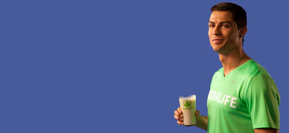 Herbalife devient le partenaire nutritionnel de Cristiano Ronaldo
