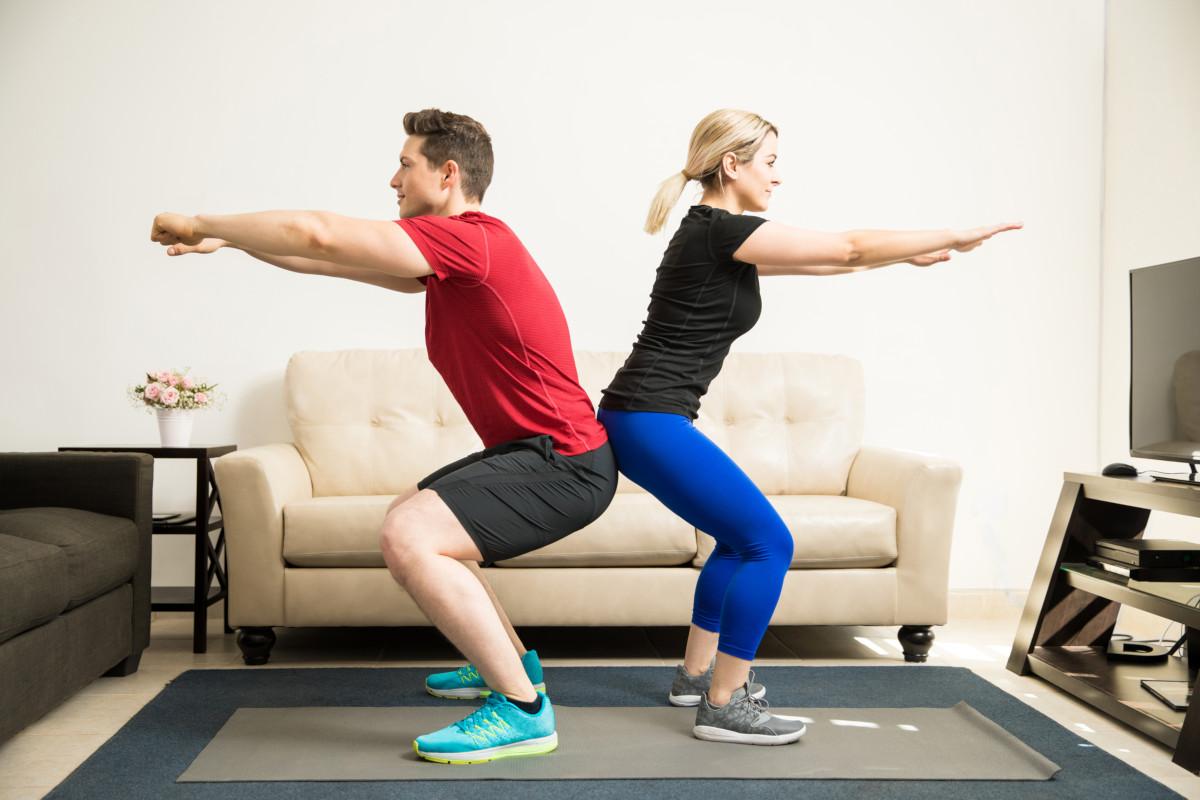 5 exercices de sport à faire à la maison