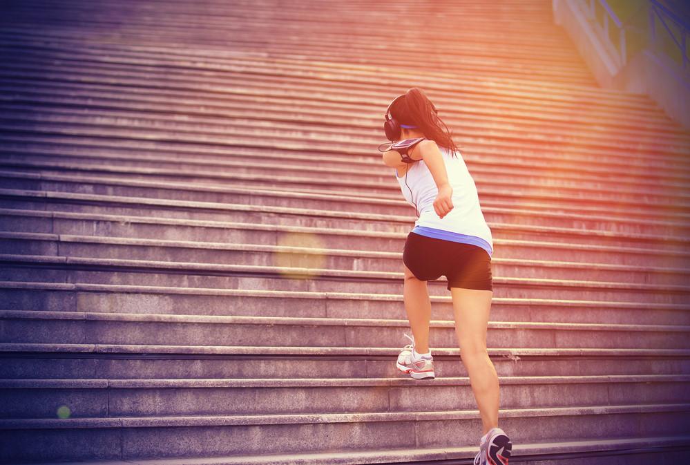 Niveau expert : acquérez puissance et coordination en vous entraînant dans les escaliers