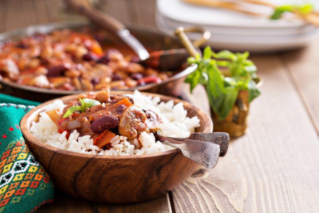 Recette Chili sin carne Herbalife